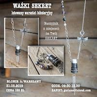 """Błonie k/Warszawy  Naszyjnik  """"Ważki sekret"""""""