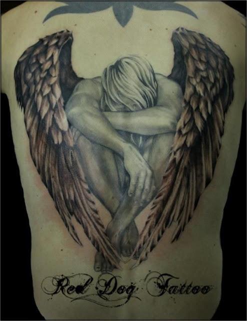 Angel Wing Tattoo Designs
