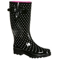 Rain Boots Polka Dots4