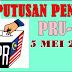 PRU 13: Keputusan Penuh Pilihanraya Umum Ke-13