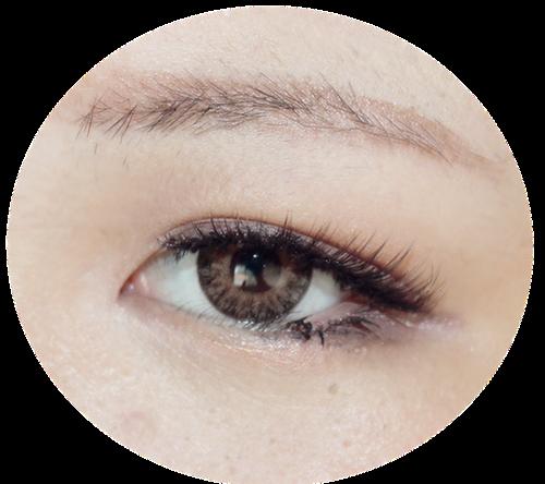 Gyaru Get up with Pink Synthetic Wiig & Eyes-cream Vanilla Circle Lenses