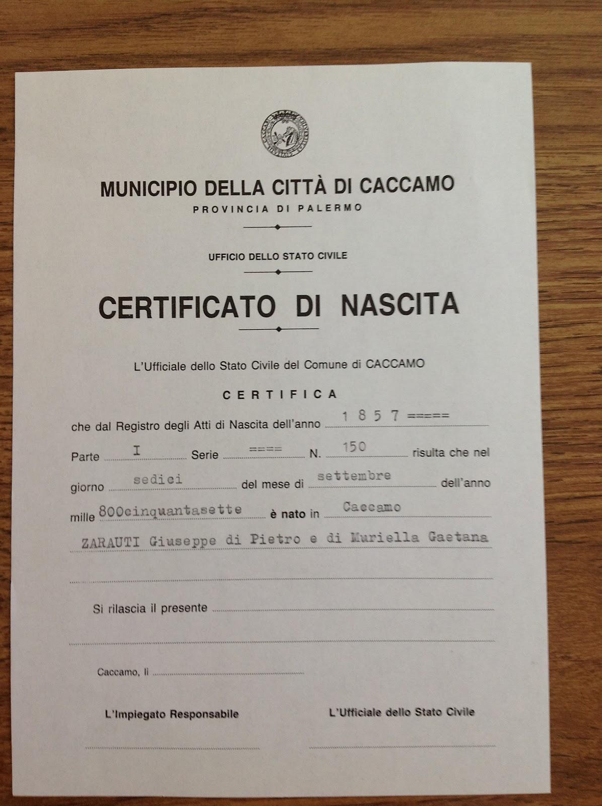 Girl Birth Certificate Template