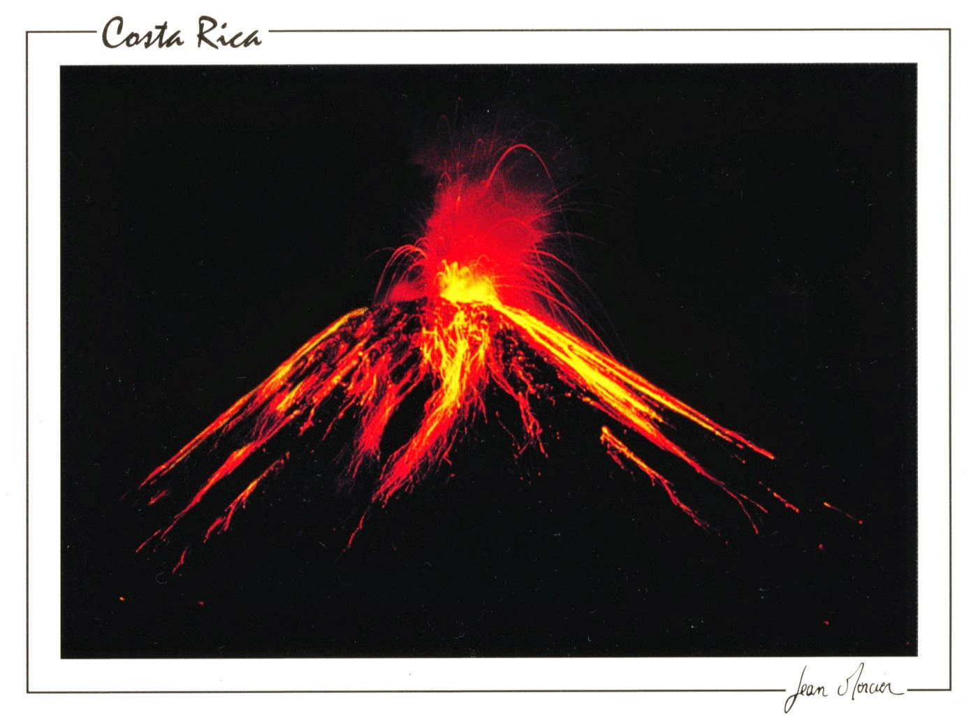 volcano, costa rica, travel, postcard