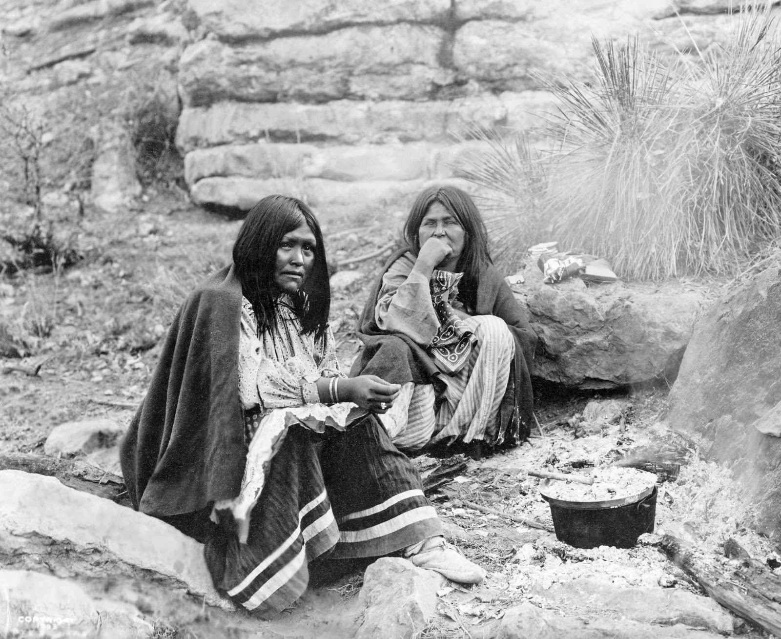 History in Photos: Edward S. Curtis - Southwest Indians
