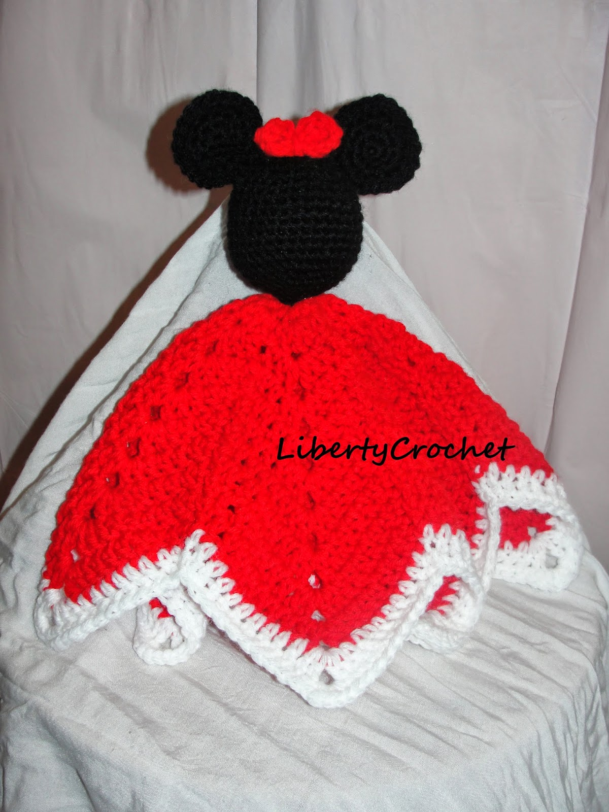libertycrochet: Mouse head lovey*