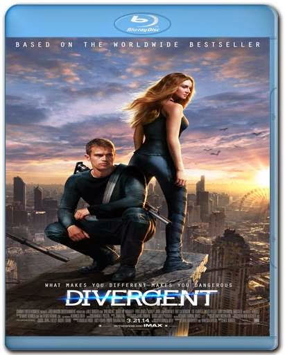 Divergente 720p + 1080p Bluray BRRip + AVI Dual Áudio + RMVB Dublado BDRip