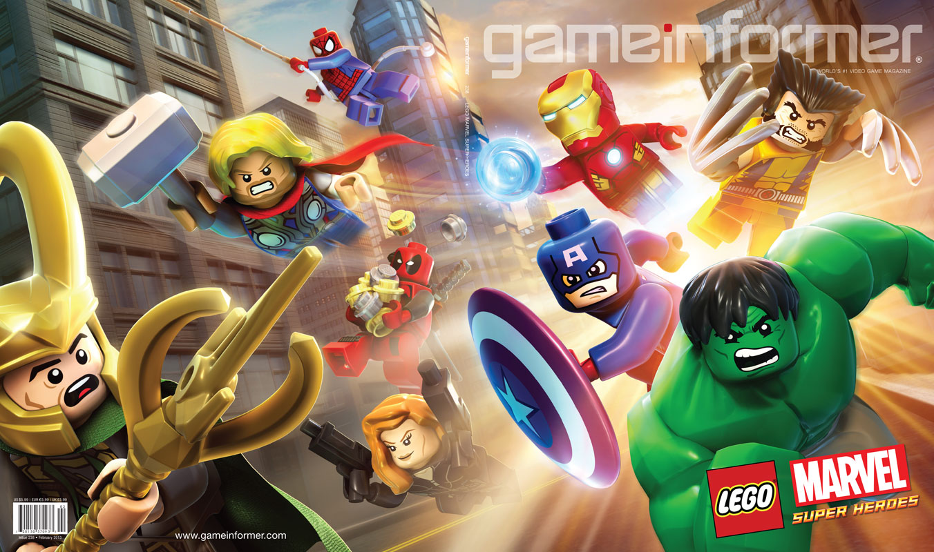 lego malvel super heroes