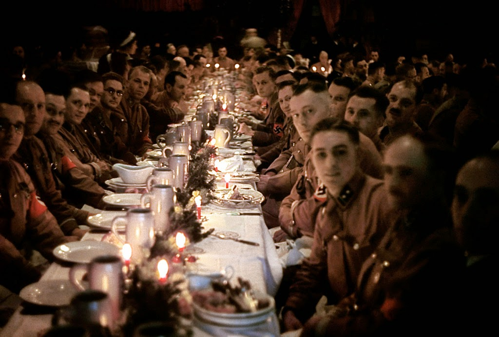 Ultimate Collection Of Rare Historical Photos. A Big Piece Of History (200 Pictures) - Hitler's Christmas party