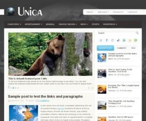 Unica Wordpress Theme