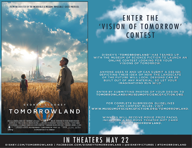 Disney's Tomorrowland Vision of Tomorrow Contest