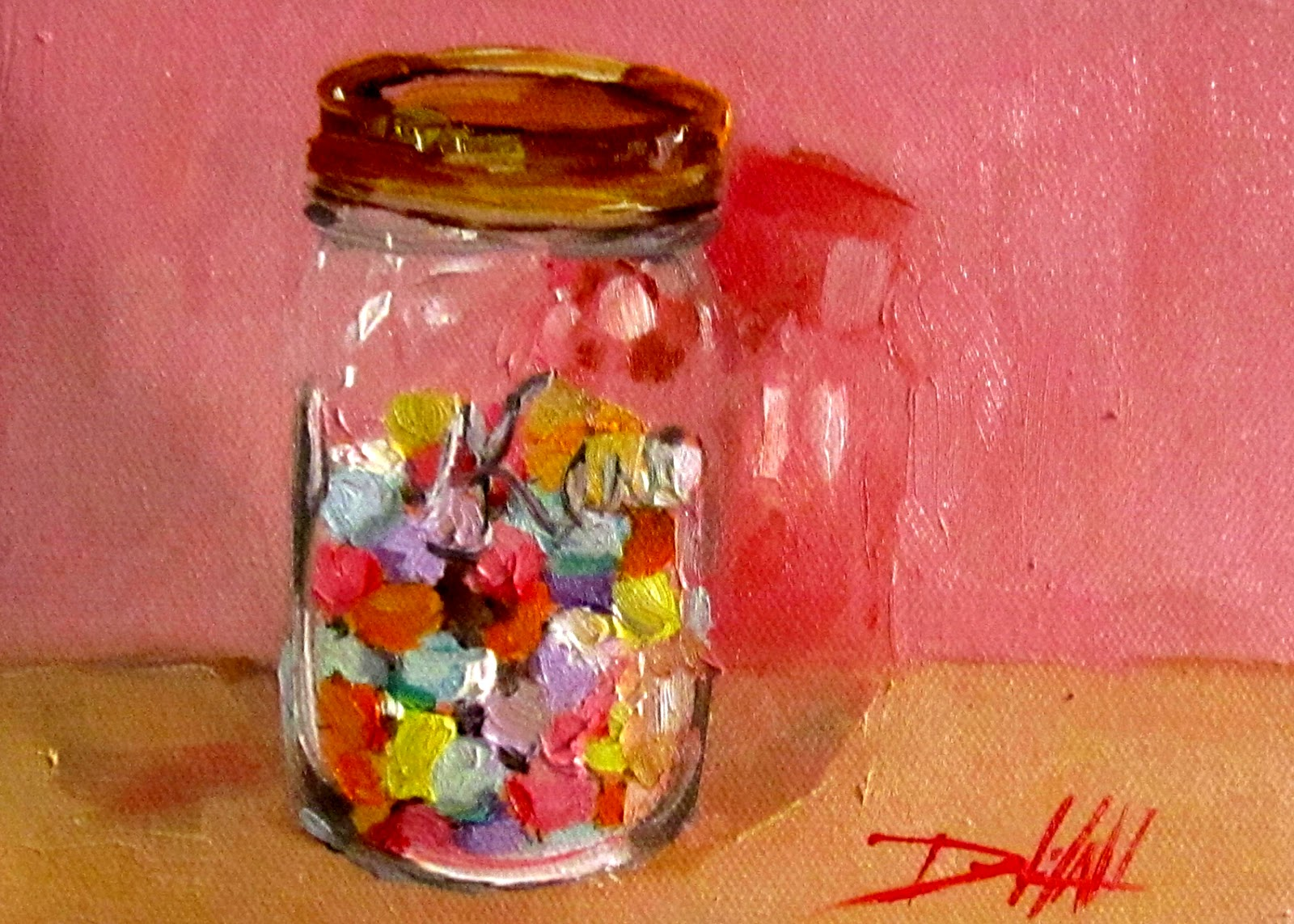 Painting of the Day, Daily Oil Paintings by Delilah ...