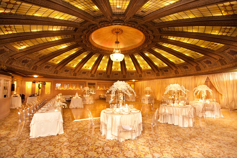 Luxury Seattle Wedding At The Arctic Club Hotel Dome Room
