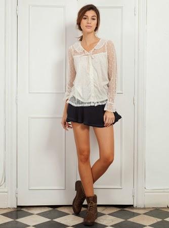 falda camisa Poète