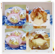 Japanese Crispy Cream Puff