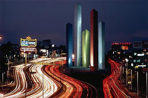 Torres de Ciudad Satlite Luis BarragnMathias Goeritz
