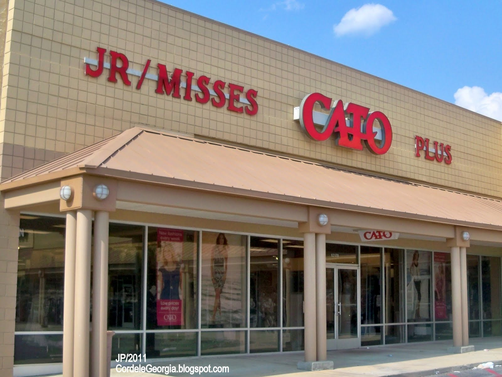 Cato Fashions Store Number CATO CORDELE GEORGIA East th
