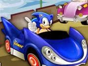 Game Sonic đua xe oto, chơi game sonic hay tại GameVui.biz