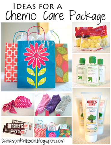 ... two ways to live your life.: Chemo Care Package Ideas and Chemo Tips