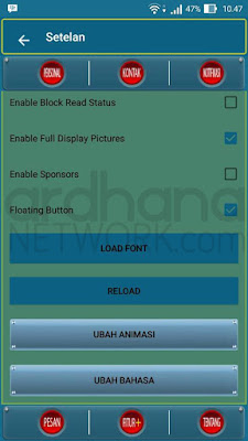 Preview BBM Flat V1 - BBM Android V2.10.0.35
