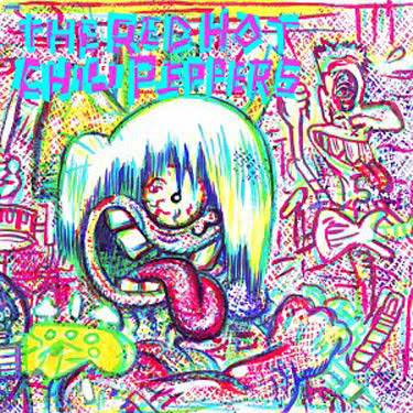 Daily Lazy Red Hot Chili Peppers Album Art