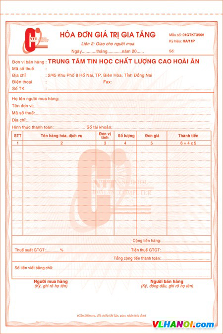 In hóa đơn nhanh nhất Việt Nam