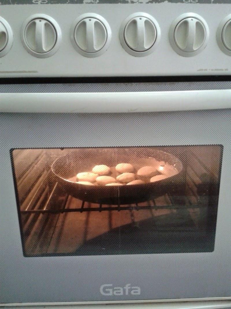 galletitas caseras en el horno
