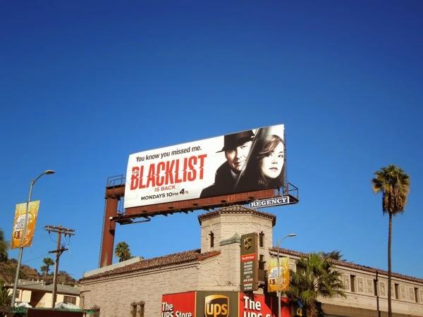 Blacklist midseason 1 billboard