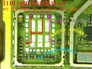 nokia 6030 network problem