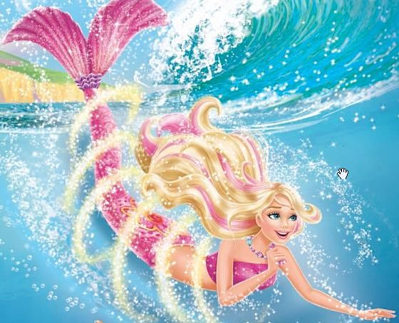 Pin barbie merliah aventura de sirenas 2 surfista y sirena - Barbie sirene surfeuse ...