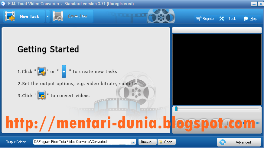 DOWNLOAD TOTAL VIDEO CONVERTER TERBARU 2013 FULL VERSION