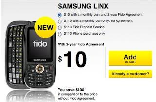 Samsung Linx QWERTY Slider