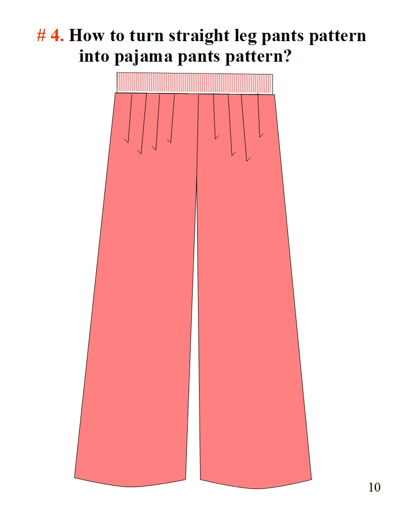 how to turn bell bottoms into bootcut