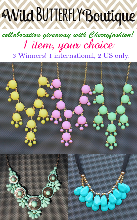 Wild Butterfly Boutique, Wild Butterfly Boutique Giveaway, Sponsored giveaway
