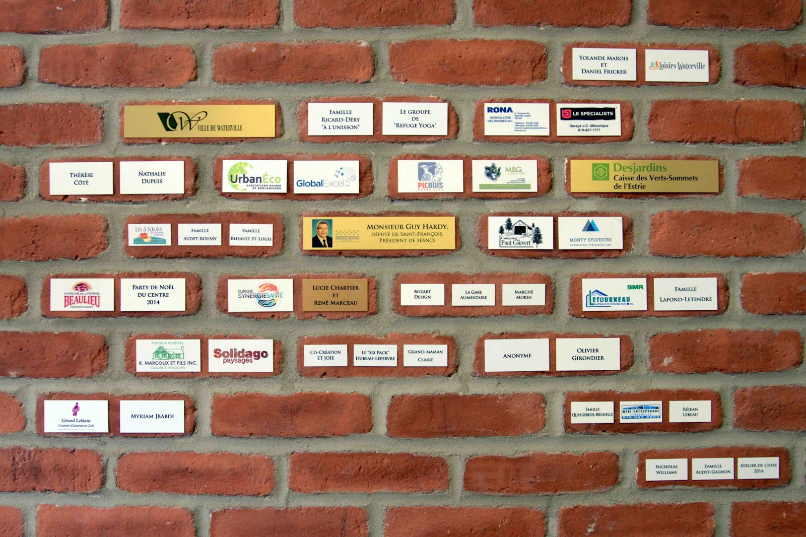 Mur des bâtisseurs