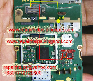Nokia 206 lcd light problem repairing SOLUTION This is a tricks of nokia asha 206 light problem repair without transistor and coil just using jumper.It is very easy solution.  Nokia asha 206 light jumper