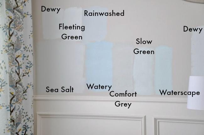 sea salt paint colorChoosing Paint for the Dining Room  Sherwin Williams Sea Salt