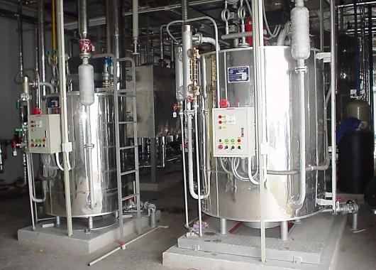 xử lý nước cho lò hơi