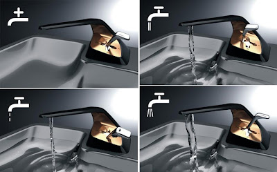 Creative Bathroom Faucets and Modern Kitchen Faucets (15) 5