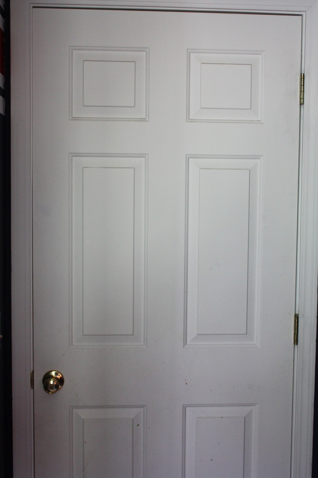 This post is all about how we gave our stock grade doors a personality. Here is what they looked like before. : door builders - pezcame.com