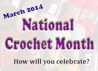 National Crochet Month CrochetHooked