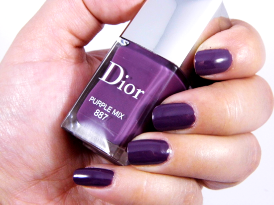 Dior Vernis Nail polish 887 Purple Mix By Khimma