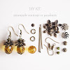 Pineapple Earring Kit
