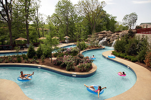 Add Even More Fun To Your Vacation In Gatlinburg By Reserving A Hotel With Lazy River This Aquatic Amenity Lets You Kick Back Relax And Enjoy Day