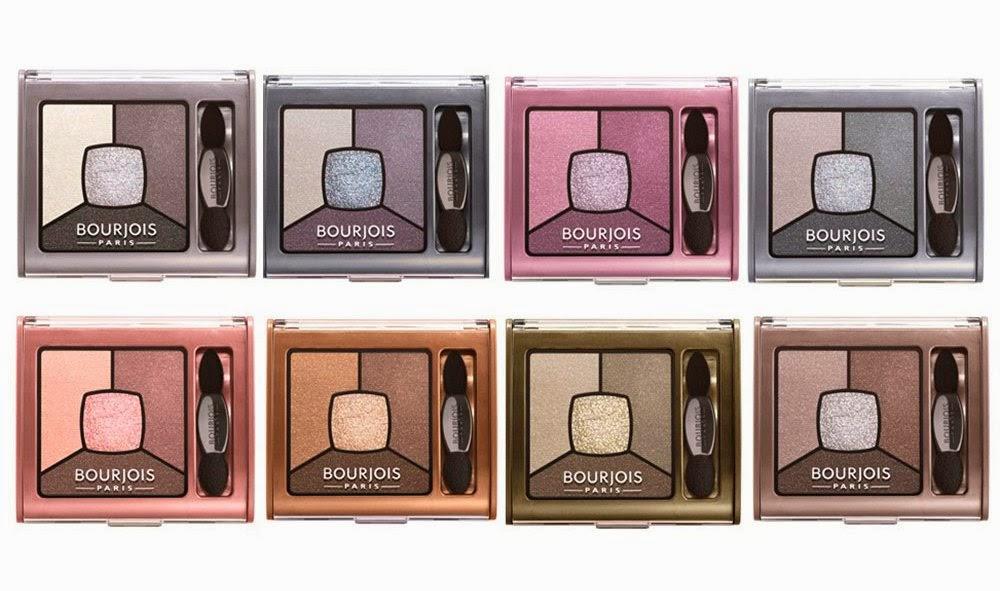 Bourjois Quad Smoky Stories Eyeshadow Palette, Bourjois, Bourjois Eyeshadow, Smoky Eyeshadow Palette, Bourjois Makeup, Bourjois Malaysia