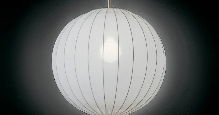 Round Fabric Pendant Light Fixture