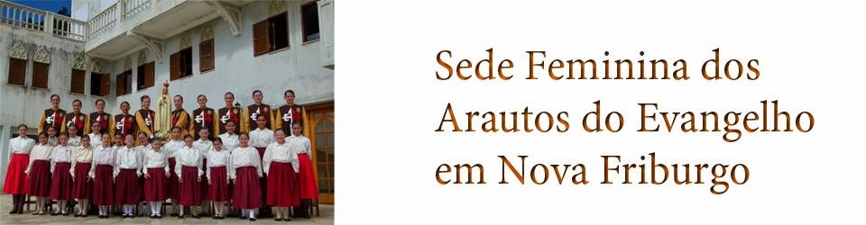 Sede Feminina dos Arautos do Evangelho em                        Nova Friburgo