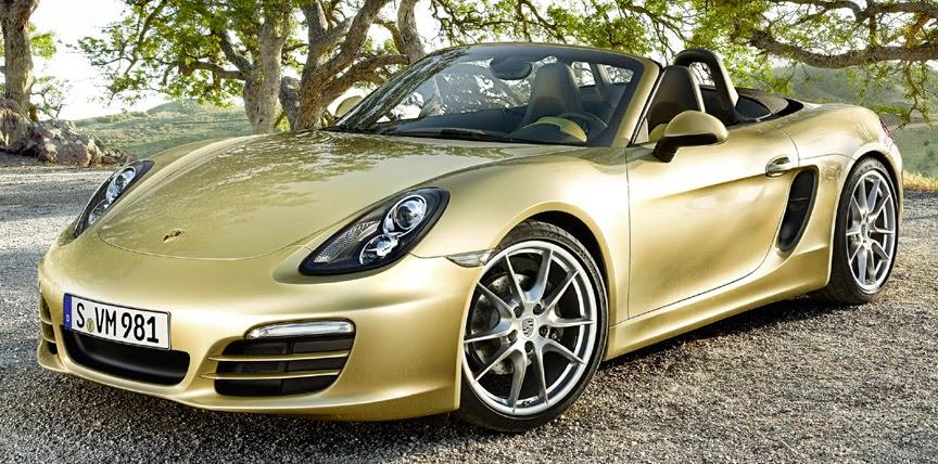 The Porsche Boxster GTS