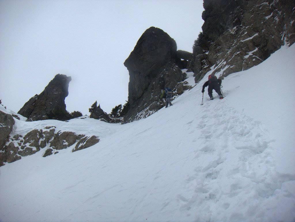 Climbing Triple Peak, shot by Mat Light