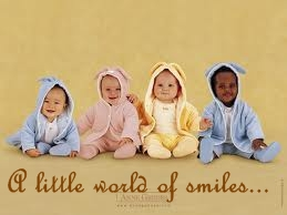 A little world of smiles...