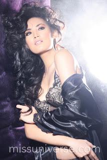 Foto Bikini Maria Selena Miss Universe 2012